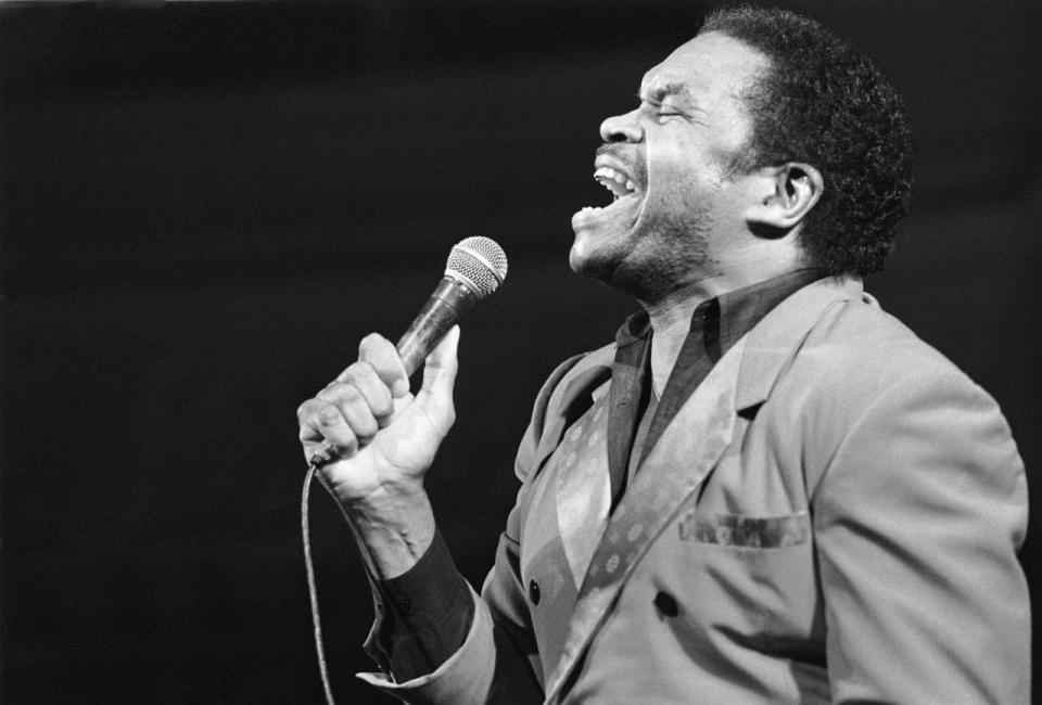 Otis Clay was a soul singer that was inducted into the Blues Hall of Fame. He died Jan. 8 of a heart attack at age 73. (Photo: Getty Images)
