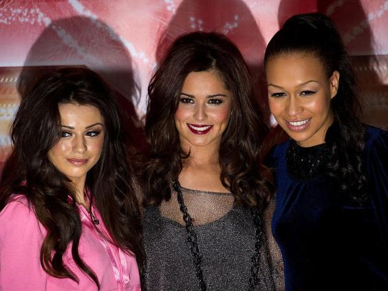 Its peak: Cher Lloyd, Cheryl Cole and Rebecca Ferguson in 2010 (Getty)