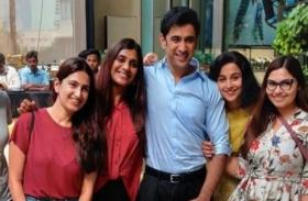 Glad to be in company of all-women team: Amit Sadh wraps up shooting for Vidya Balan's Shakuntala Devi biopic