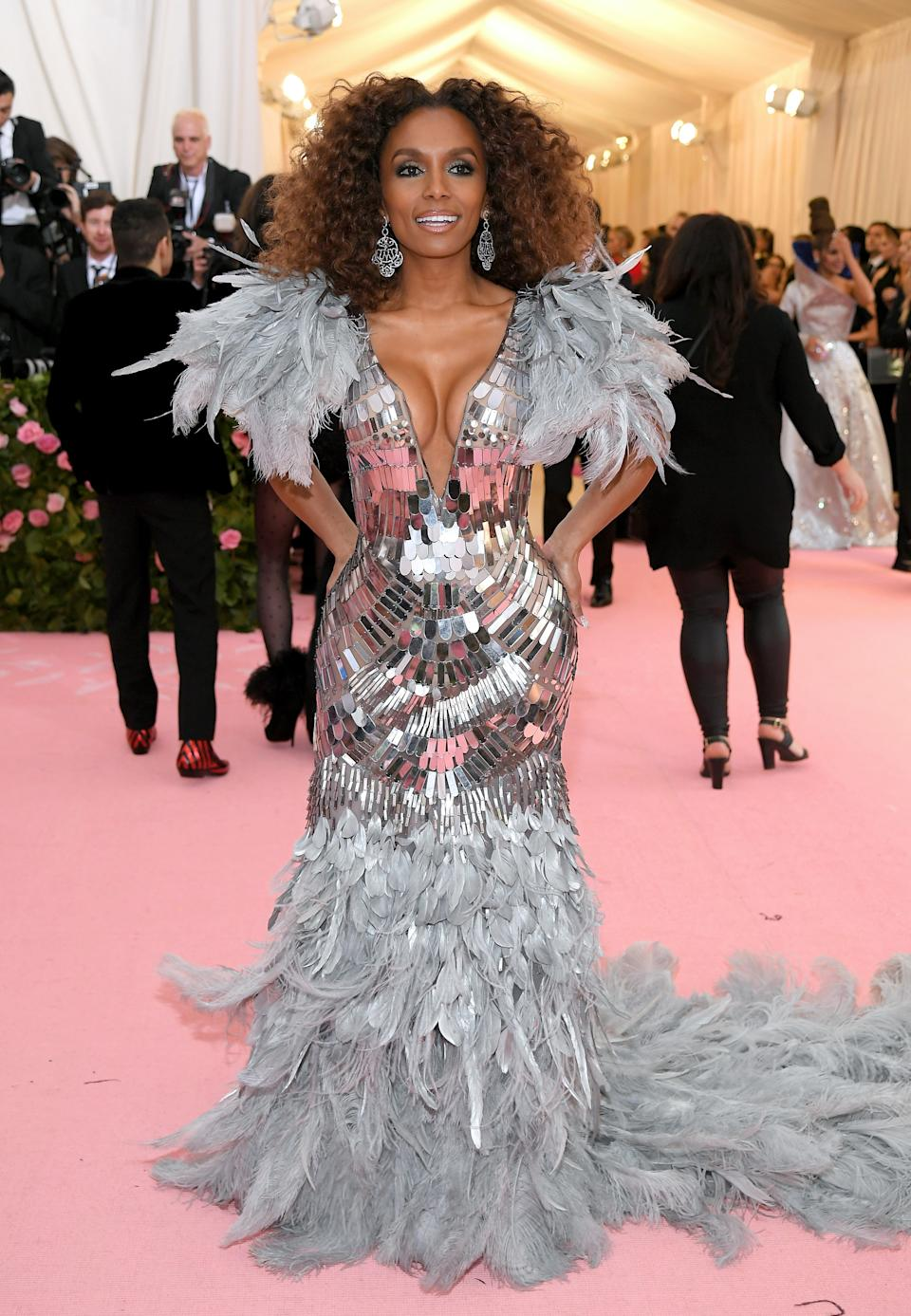 """<h1 class=""""title"""">Janet Mock in custom Alberta Ferretti Limited Edition</h1><cite class=""""credit"""">Photo: Getty Images</cite>"""