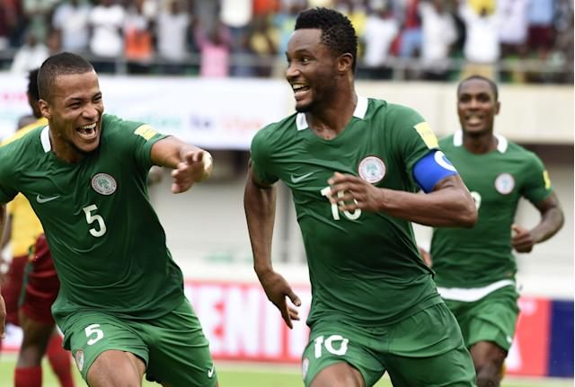 Nigeria will have a bevy of young talent at the 2018 World Cup, but John Obi Mikel is still a fixture. (Getty)