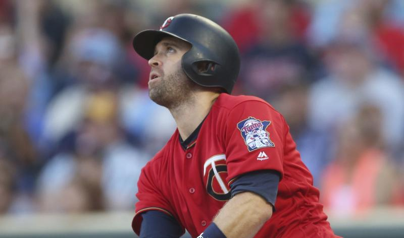 Slugging second baseman Brian Dozer was traded to the Dodgers right before MLB's trade deadline. (AP)