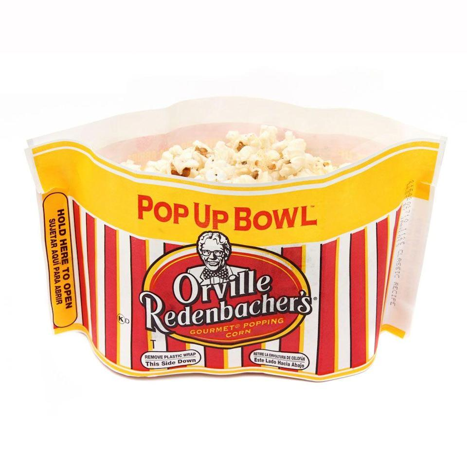 "<p>By 1970, iconic popcorn master Orville Redenbacher had perfected his perfect kernel and light, airy popcorn became an instant snack everyone coveted. <a href=""https://www.womenshealthmag.com/food/a20976724/is-popcorn-healthy/"" rel=""nofollow noopener"" target=""_blank"" data-ylk=""slk:Get an RD's take on the health benefits of popcorn here."" class=""link rapid-noclick-resp"">Get an RD's take on the health benefits of popcorn here.</a></p>"