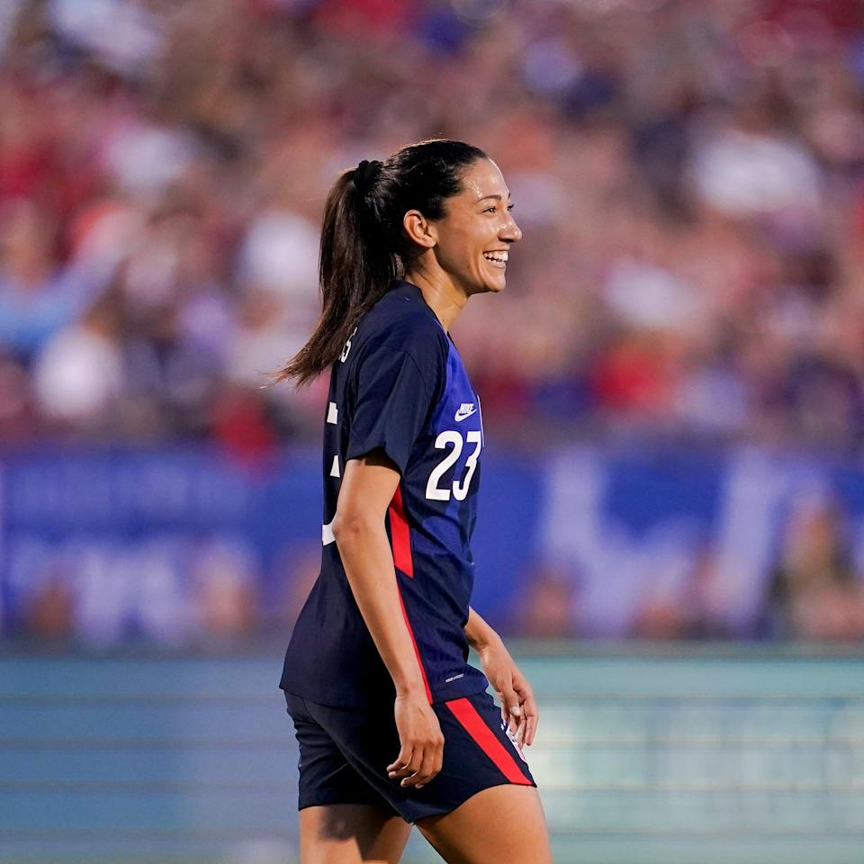 7 Fun Facts About World Cup Champ Christen Press, Who's Sure to Make Waves in Tokyo