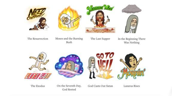 The Bitmoji Bible is trying to make religion more appealing to young