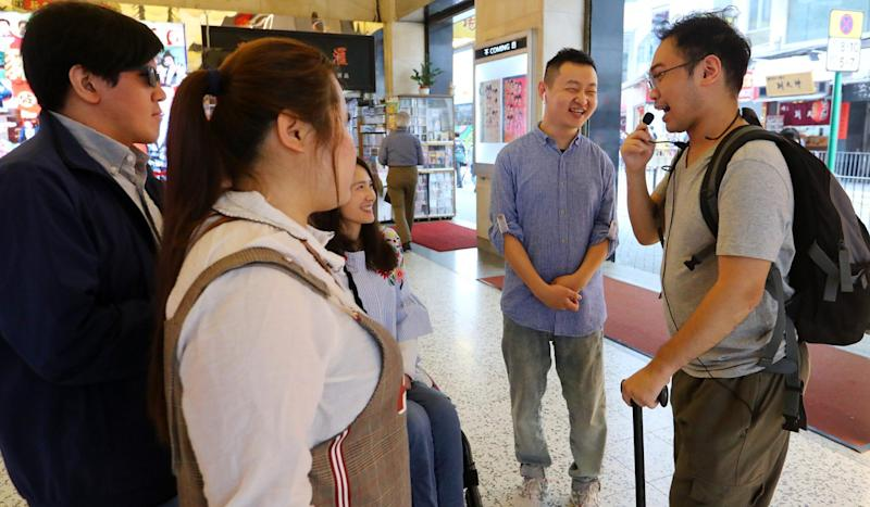 Disabled Hong Kong tour guides get creative in building careers by making education about their conditions a major attraction