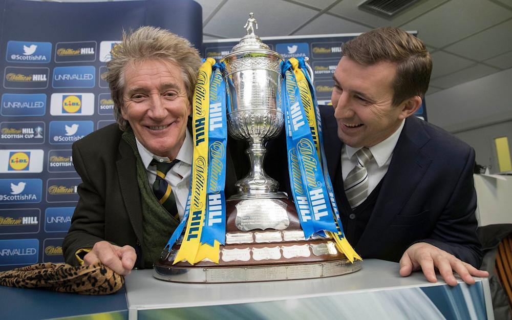 The Scottish Cup - Credit: Steve Welsh/PA