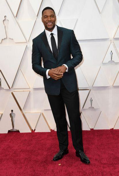 PHOTO: Michael Strahan arrives at the Oscars, Feb. 9, 2020, in Hollywood, Calif. (Richard Shotwell/Invision/AP)