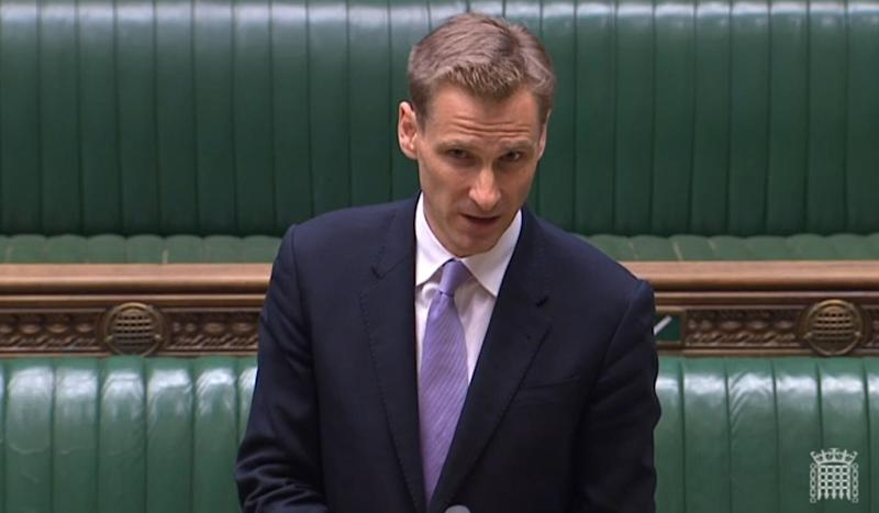 Home Office minister Chris Philp in the House of Commons (Photo: PA)