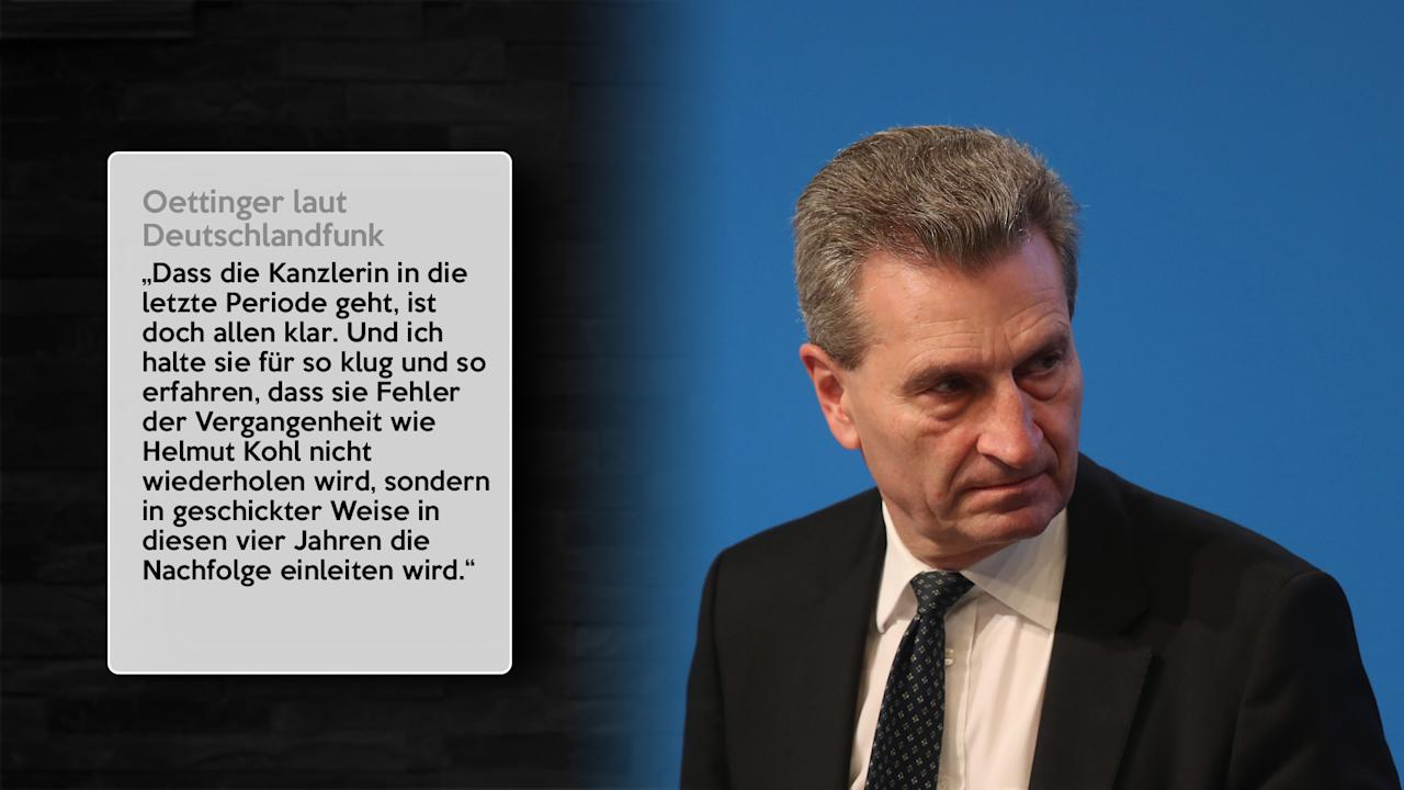<p>Günther Oettinger (EU-Haushaltskommissar, CDU)<br />Bild: Getty Images </p>