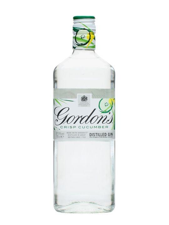 """<p>Cucumber is often a common garnish when it comes to gin, so it makes complete sense to simply infuse it! Gordons recommend that you serve it up with some tonic, ice, lime and a slice of cucumber. </p><p><strong>£16.95</strong><strong>, The Whisky Exchange </strong></p><p><a class=""""link rapid-noclick-resp"""" href=""""https://go.redirectingat.com?id=127X1599956&url=https%3A%2F%2Fwww.thewhiskyexchange.com%2Fp%2F19331%2Fgordons-crisp-cucumber-gin-70cl%3Fawc%3D400_1568885286_a59e36d0d70ebf112b6304730489cc0a&sref=https%3A%2F%2Fwww.delish.com%2Fuk%2Fcocktails-drinks%2Fg29069585%2Fflavoured-gin%2F"""" rel=""""nofollow noopener"""" target=""""_blank"""" data-ylk=""""slk:BUY NOW"""">BUY NOW</a><strong><br></strong></p>"""