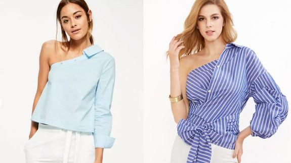 """<img alt=""""""""/><p>At some point between late 2015 and early 2016, the ubiquitous cold-shoulder top took hold of fast fashion and has since refused to let go. You know the ones — those dumb, otherwise long-sleeved shirts with holes inexplicably cut from the shoulder. True to name, they make your shoulders cold and your life just a little bit worse.</p> <p>Now another another unforgivable trend is creeping its way into fast fashion stores across America.</p> <p><strong>The style: Deconstructed shirting.</strong></p> <p><strong>The look: Business attire made borderline unwearable.</strong></p> <div><p>SEE ALSO: <a rel=""""nofollow"""" href=""""http://mashable.com/2017/05/18/detachable-cutout-jeans/?utm_campaign=Mash-BD-Synd-Yahoo-Watercooler-Full&utm_cid=Mash-BD-Synd-Yahoo-Watercooler-Full"""">Detachable cut-out jeans are genuinely the worst thing we've ever seen</a></p></div> <p>Traditional dress shirts — with their wrinkle-prone fabrics and inability to stay neatly tucked — are uncomfortable as is. But despite their flaws, dress shirts also project professionalism and polish when well maintained. Deconstructed shirting projects neither of those things.</p> <p>Imagine trying to wear this:</p> <p><img title=""""Come on."""" alt=""""Come on.""""></p> <p>Come on.</p><div><p>Image:  <a rel=""""nofollow"""" href=""""http://us.shein.com/Blue-Striped-One-Shoulder-Wrap-Around-Button-Down-Top-p-326445-cat-1733.html"""">shein</a></p></div><p>Imagine trying to iron this shirt when you are already 10 minutes behind schedule.</p> <p>Imagine sitting down to dinner in an air-conditioned restaurant, but being unable to pull on a sweater due to your outsized left sleeve.</p> <p>Imagine tying, untying, and re-tying that bow in the mirror for 15 minutes because a true, perfect bow is low-key impossible to achieve without the help of a machine.</p> <p>Imagine having just one sweaty armpit. Just one!</p> <p>Are you taking it all in? Do you hate these shirts as much as I do? Good. Here are some others to hate-stare at.</p> <p>"""