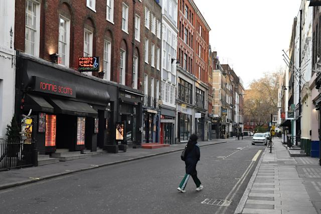Boris Johnson has ordered pubs, cafes, bars, restaurants and other social spaces across the country to close - leaving London looking like a ghost town. (PA)