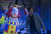 The first half of Andy Muschietti's Stephen King adaptation was a massive commercial hit, leaving audiences anxiously waiting to see how the story would conclude with this epic second installment. (Credit: Warner Bros)