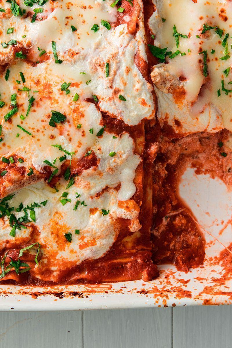 """<p>With no meat to get in the way this lasagne isn't messing around. Here are our top tips for getting it perfect every time.</p><p>Get the <a href=""""https://www.delish.com/uk/cooking/recipes/a29139134/easy-vegetarian-lasagna-recipe/"""" rel=""""nofollow noopener"""" target=""""_blank"""" data-ylk=""""slk:Vegetarian Lasagne"""" class=""""link rapid-noclick-resp"""">Vegetarian Lasagne</a> recipe.</p>"""