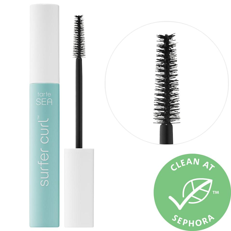 """<p><strong>Item:</strong> <span>Tarte Sea Surfer Curl Volumizing Mascara</span> ($12-$23) </p> <p><strong>What our editor said:</strong> """"I can count on two hands the number of tubes that have made it into my regular rotation. On that list: the new Tarte Sea Surfer Curl Volumizing Mascara, which somehow manages to lengthen, curl, and bulk up my lashes in just a few swipes without then later transferring a veil of black pigment to my upper eyelids by 5 p.m. It's magic."""" - KC</p> <p>If you want to read more, here is <a href=""""https://www.popsugar.com/beauty/photo-gallery/47277765/image/47277902/Tarte-Sea-Surfer-Curl-Volumizing-Mascara"""" class=""""link rapid-noclick-resp"""" rel=""""nofollow noopener"""" target=""""_blank"""" data-ylk=""""slk:the complete review"""">the complete review</a>.</p>"""