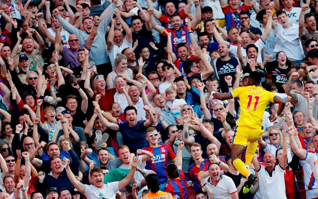 Wilfried Zaha has everything built around him at Crystal Palace - Action Images via Reuters