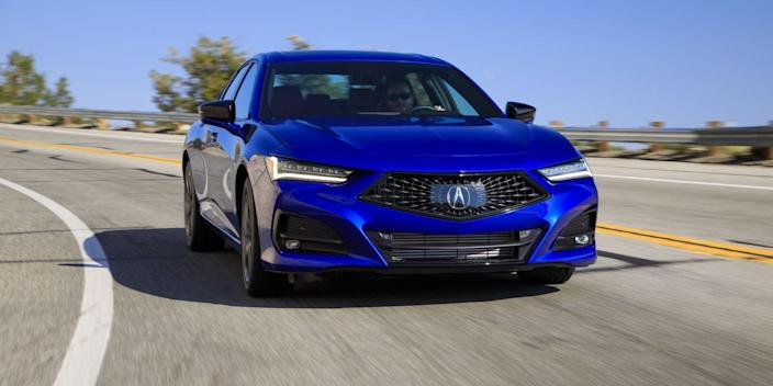 the 2021 acura tlx whets our appetite for the still to