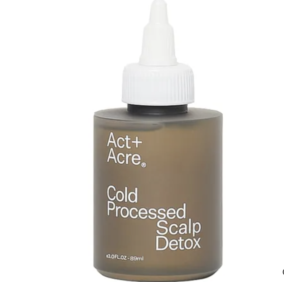 PHOTO: Sephora. Act + Acre Cold Processed Scalp Detox, S$63 for 89ml