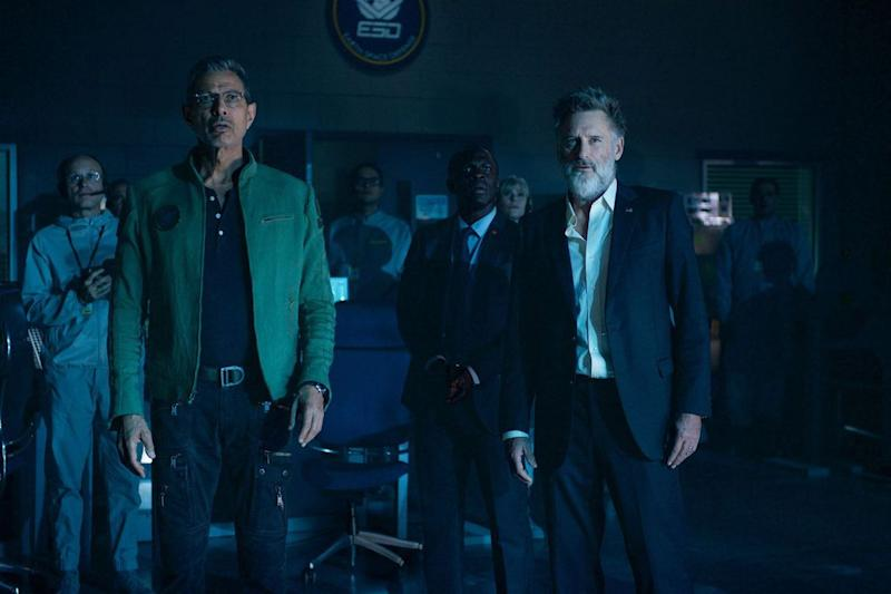 Jeff Goldblum and Bill Pullman returned for Independence Day: Resurgence. (Photo: Fox)