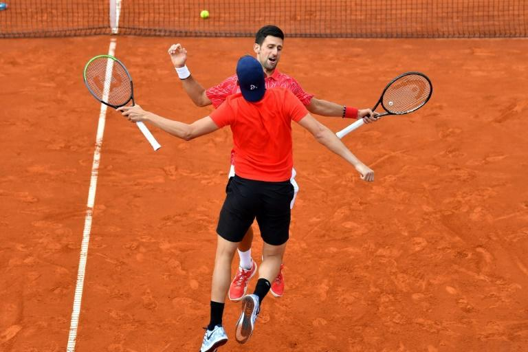 Social distancing was minimal at Djokovic's Adria Tour series