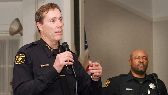 Berkeley Police Chief Defends Hunt for Son's iPhone