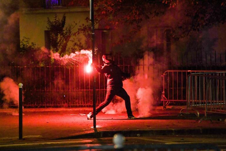 83 arrests, cars ablaze as angry PSG fans clash with police