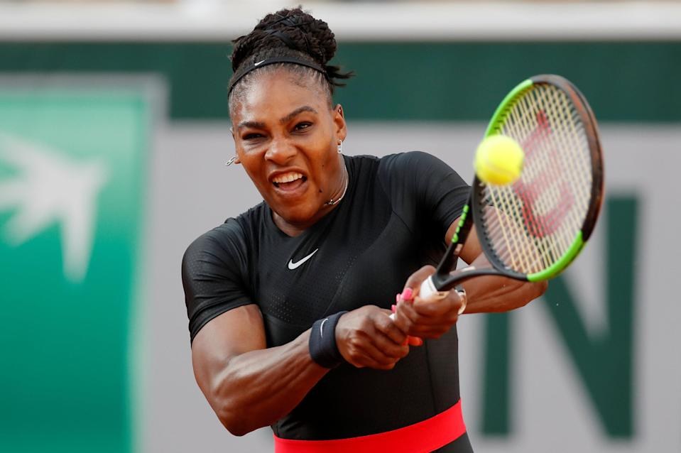 Tennis – French Open – Roland Garros, Paris, France – June 2, 2018 Serena Williams of the U.S. in action during her third round match against Germany's Julia Goerges REUTERS/Gonzalo Fuentes