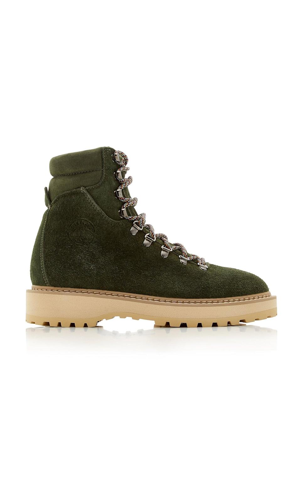<p>Switch it up with these cool <span>Diemme Monfumo Suede Boots</span> ($439). The dark green suede adds a little something extra, and they'll look great with jeans.</p>
