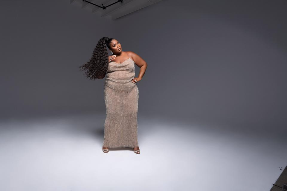 Lizzo in LaQuan Smith.  (Photo: Hype Williams )