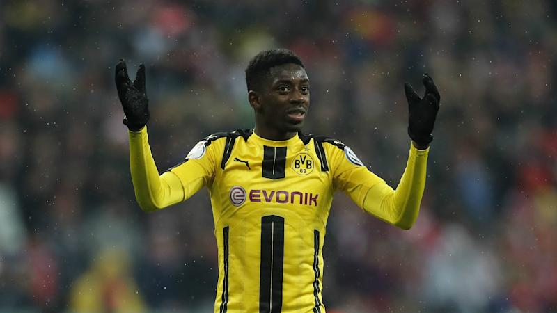 Barcelona has made 20-year-old Ousmane Dembele the second-most expensive player ever.