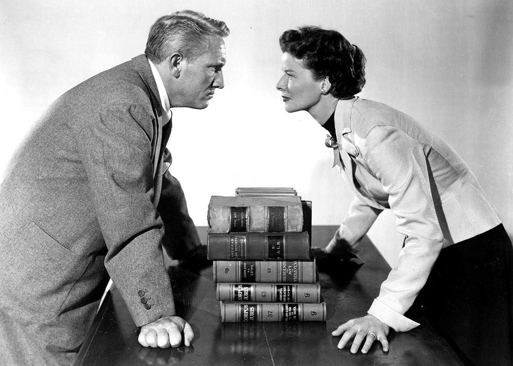 """<a href=""""http://movies.yahoo.com/movie/adams-rib/"""">ADAM'S RIB</a> (1949) <br>Directed by: George Cukor <br>Starring: Spencer Tracy and Katherine Hepburn<br>"""