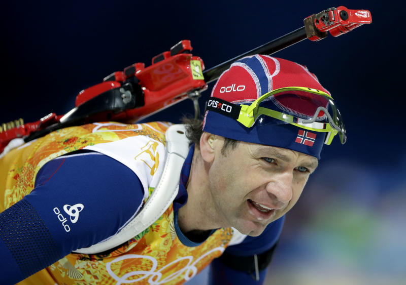 Russia wins men's biathlon relay at Sochi Olympics