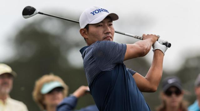 HUMBLE, Texas (AP) -- Sung Kang shot a 9-under 63 to take a six-shot lead in a record-breaking second round at the Houston Open on Friday.