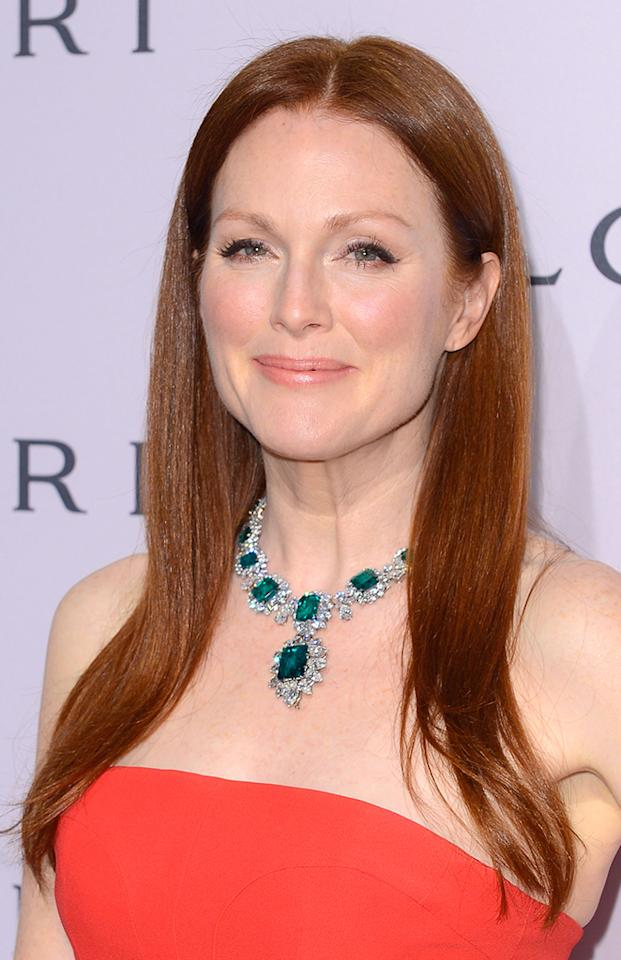 "It's Julianne Moore, who received her first Oscar nod for ""Boogie Nights,"" in the HBO film ""Game Change."""