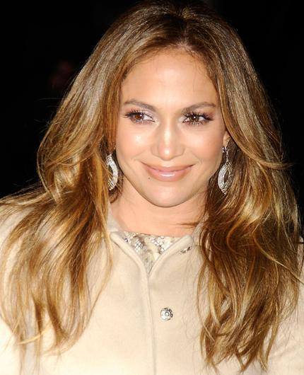Celebrity hair: Jennifer Lopez's honey coloured locks are oh-so swishable, and her stylist, Oribe knows it. This is no doubt the justification for him charging a whooping £400 just for a cut.