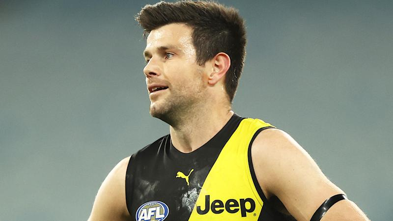Richmond Tigers captain Trent Cotchin is pictured.