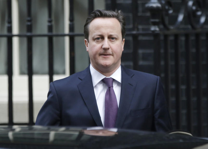 UK PM Cameron to give key speech on Europe ties