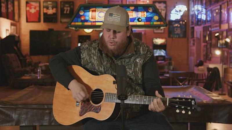 Luke Combs appears on 'CMT Celebrates Our Heroes'