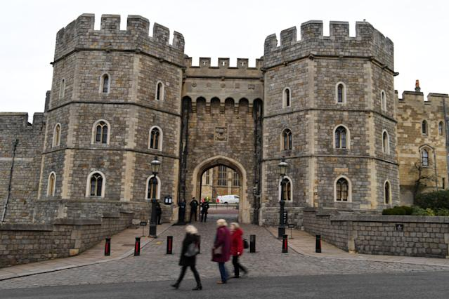 Windsor Castle will be closed to the public for the timebeing. (Getty Images)