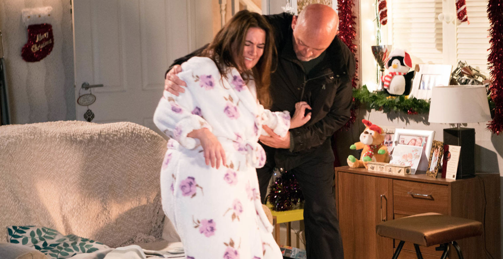 <p>Phelan finds little Jack in the Street, who tells him Anna's had an accident. Phelan breaks down the door and rescues Anna but what will her, and Kevin's, reaction be? </p>