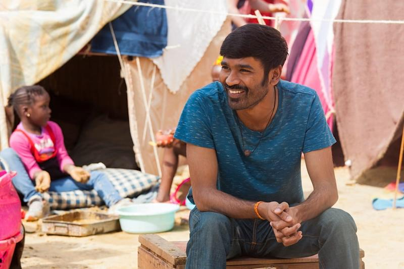 Dhanush. Image from Twitter