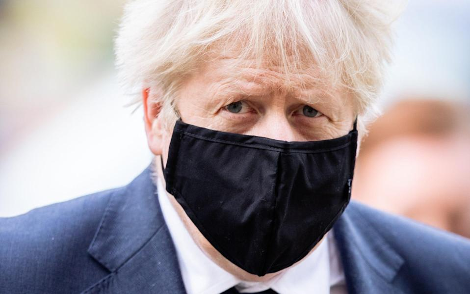 Boris Johnson will announce a harsher three-tier system on Monday