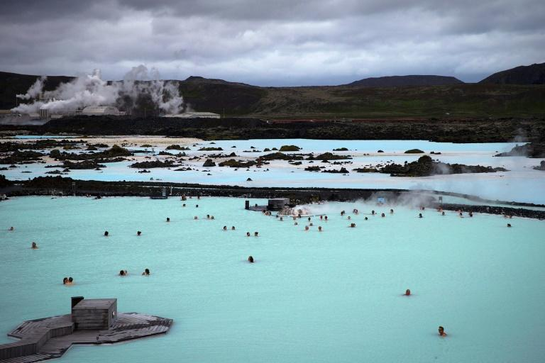 """For nearly a week, a series of earthquakes have been shaking the area around Grindavik, not far from the steaming waters of the """"Blue Lagoon,"""" a popular geothermal spa in southwestern Iceland on the Reykjanes Peninsula"""