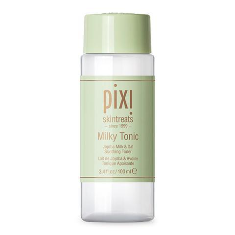 """<h3>Pixi Milky Tonic</h3><br>You would never guess that this hydrating toner came from the drugstore — that's how good it is. Sensitive skin types will be all over the gentle ingredients like jojoba milk, oat extract, and green tea.<br><br><strong>Pixi</strong> Milky Tonic, $, available at <a href=""""https://go.skimresources.com/?id=30283X879131&url=https%3A%2F%2Ffave.co%2F33P012l"""" rel=""""nofollow noopener"""" target=""""_blank"""" data-ylk=""""slk:Pixi"""" class=""""link rapid-noclick-resp"""">Pixi</a>"""