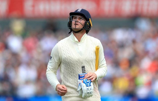 Jason Roy struggled in his role as a Test opener (Mike Egerton/PA)