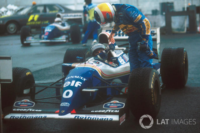 "1994: Williams-Renault FW16B <span class=""copyright"">LAT Images</span>"