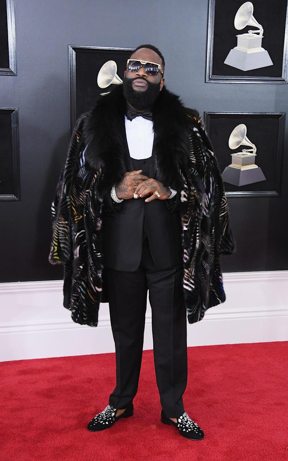 """<h1 class=""""title"""">Rick Ross in Giuseppe Zanotti shoes</h1><cite class=""""credit"""">Photo: Getty Images</cite>"""