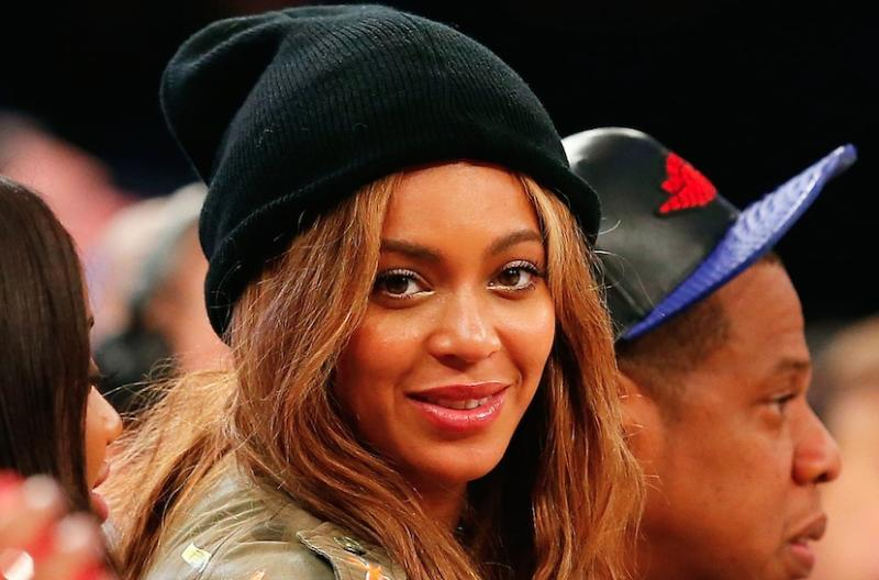 f34d7904a1c3fb Beyoncé had a total blast sitting courtside with Blue Ivy at the NBA All -Star