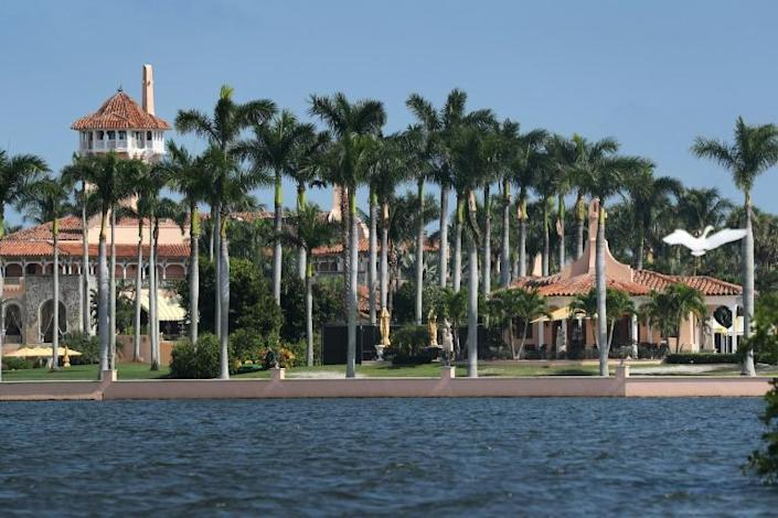 Trump's Mar-a-Lago resort will be the backdrop for the president's Thanksgiving festivities (AFP Photo/JOE RAEDLE)